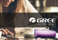 Gree 2017-es Gree klíma szórólap