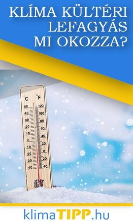 Télen a klíma kültérije sokszor lefagy?